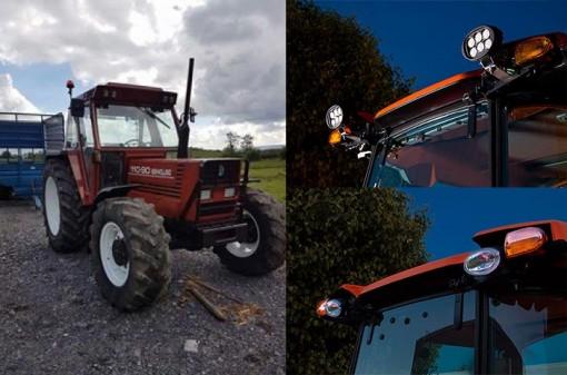 Варианты установки дополнительного света на трактор