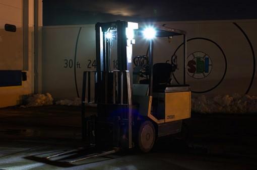 Варианты установки дополнительного света на каре